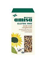 Amisa Organic Gluten Free Crispbread  Multi Seed  200g