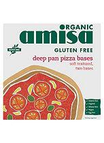 Amisa Organic Gluten Free Pizza Base 260g
