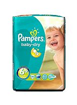 Pampers Baby Dry Carry Pack Extra Large+ 19