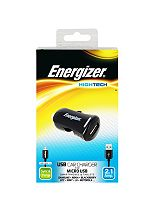 Energizer High Tech Micro USB Car Charger for Smartphones and Tablets