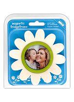 Shot 2 Go Flower Fridge Photo Frame- White