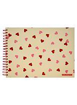 Emma Bridgewater Hearts Scrapbook Photo Album- 20 Sheets