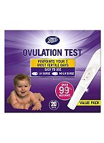 Boots Ovulation Test Kit 20 tests