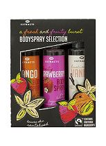 Extracts body spray collection