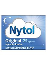 Nytol Original Tablets - 20 x 25 mg