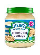 Heinz 4-36 Months Smooth Mum's Own Creamy Oat Porridge 120g