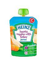Heinz 4+ Months Hearty Veggies with Turkey Puree 100g