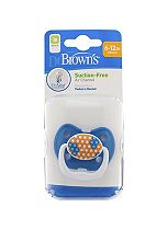 Dr Brown's Orthodontic Soother 6-12 months- Blue