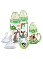 NUK Disney The Jungle Book Bottle and Soother Set