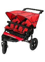 Out 'n' About Nipper Double V4 Pushchair - Red