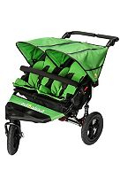 Out 'n' About Nipper Double V4 Pushchair - Green