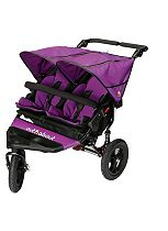 Out 'n' About Nipper Double V4 Pushchair - Purple