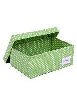 Minene Small Storage Box - Green Spot