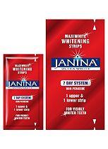 Janina Ultra White Maxiwhite Whitening Strips - 7 Day System (14 pouches)