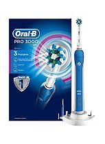 Oral-B Pro 3000 Rechargeable Electric Toothbrush - powered by Braun