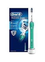 Oral-B Trizone 2000 Rechargeable Electric Toothbrush - powered by Braun