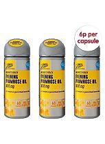 Boots Evening Primrose Oil 1000 mg 180 Capsules / 3 x 60 capsules