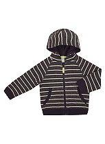 Boys Stripe Zip Through - Mini Club