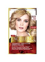 L'Oreal Excellence Blonde Legend Permanent 8.01 Natural Medium Beige Blonde