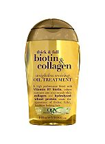 OGX Thick & Full Biotin & Collagen Weightless Reviving Oil Treatment 100ml