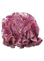 Save The Blow  Dry shower cap pink bows