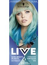Schwarzkopf Live Color XXL HD Ultra Brights Semi-Permanent 96 Turquoise Temptation