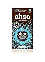 ohso Classic No Added Sugar Belgian Chocolate 7 Bars with your Daily Boost Of Live Bacteria. 94.5g