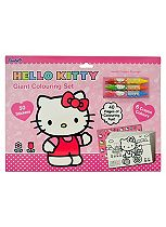 'Hello Kitty Colouring & Activity Giant Colouring set