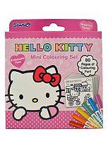 'Hello Kitty Colouring & Activity Mini Colouring set