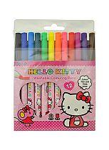 'Hello Kitty Colouring & Activity 12 Colouring Pens