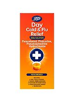 Boots Day Cold & Flu Relief Oral Solution - 240ml