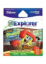 LeapFrog Explorer Learning Game: Spongebob Fists of Foam