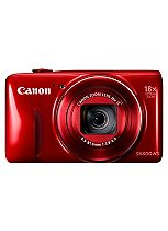 Canon PowerShot SX600 HS (16MP, 18x Optical Zoom, 3 inch LCD) Digital Compact Camera- Red
