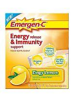 Emergen-C Zingy Lemon Sachets with sweeteners - 8 x 9.8 g