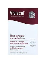 Viviscal Women's Max Strength supplement 30 tablets