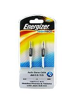 Energizer Audio Stereo Jack Cable- Black