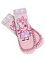 Girls Peppa Pig Slipper Socks - Mini Club
