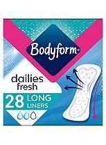Bodyform Daily Fresh Liners Long x28