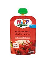 HiPP Organic Mild Tomato & Chicken Curry 7+ Months 130g