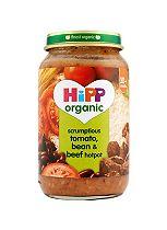 HiPP Organic Scrumptious Tomato, Bean & Beef Hotpot 10+ Months 220g