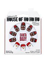 House of Holland Nails Xmas Santa Baby