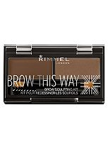 Rimmel London Brow This Way Eyebrow Kit