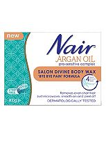 Nair Argan Oil Salon Divine Body Wax 'Bye Bye Pain' Formula