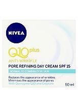 NIVEA Q10 Plus Anti-Wrinkle Pore Refining Day Cream SPF 15 50ml