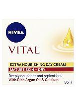 NIVEA Vital Extra Nourishing Day Cream 50ml