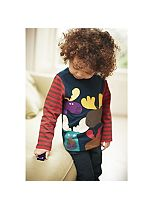 Boys 3 Pack Long Sleeve T-Shirts - Mini Club