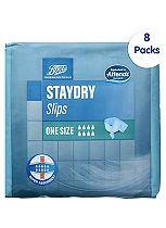 Boots StayDry Slips One Size - 80 Slips (8 x 10 Slips)