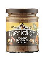 Meridian Organic Crunchy Peanut Butter 280g