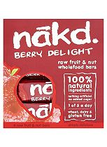 Nakd WholefoodBerry Delight 35g Bars (12 x 4 x 35g)