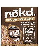 Nakd Wholefood Cocoa Delight 35g Bars (12 x 4 x 35g)
